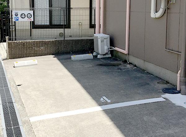 駐車スペース④